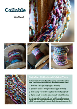 Yarn Architecture Recipe Cards