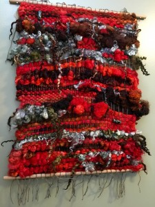 KB - FO - Weaving Red and Black